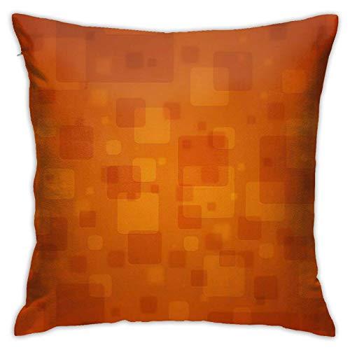XCNGG Funda de Almohada Funda de cojín de Almohada para el hogar Ropa de Cama Throw Pillow Case, Pattern Pillow Cover, Decorative Pillowcase Square Cushion for Sofa Couch Car 18x18