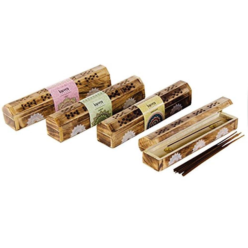 昆虫を見るライブ気難しいKarma Incense Boxed Set