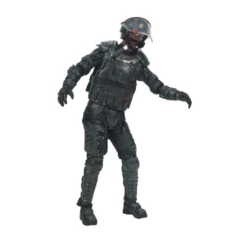 Walking Dead Tv Series 4 Riot Gear Zombi
