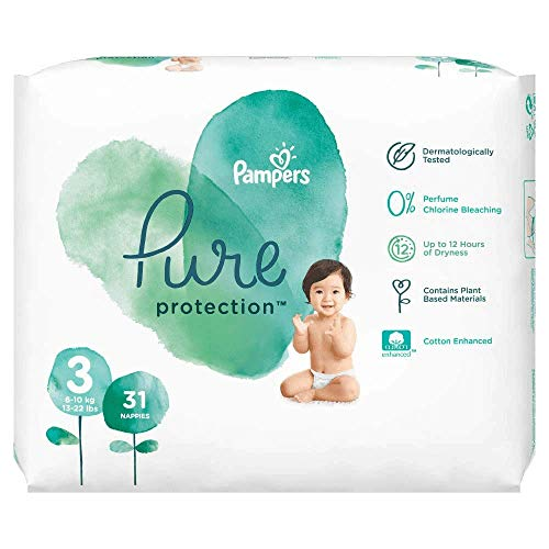 Pampers 81685104 Pure Protection windeln, weiß