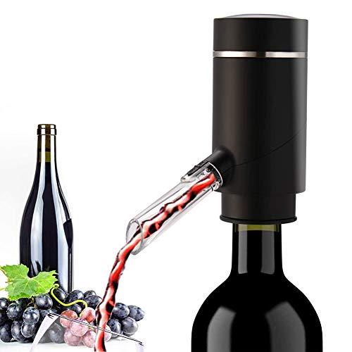 PDXGZ Aeratore per Vino, Aeratore ed erogatore Elettrico per Il Vino di - Facile Funzionamento con Un Tocco Multifunzione Ricaricabile USB per Casa, Festa
