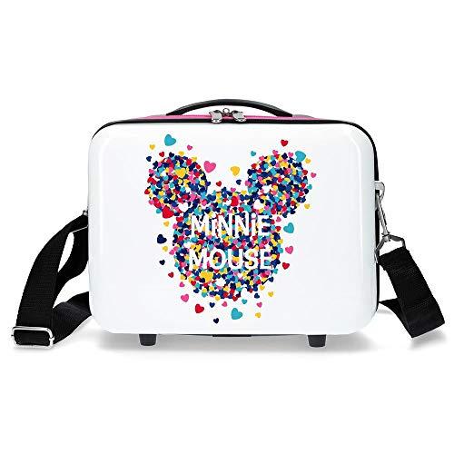Disney Minnie Magic Neceser Adaptable Rosa 29x21x15 cms Rígido ABS 9,14L 0,84 kgs