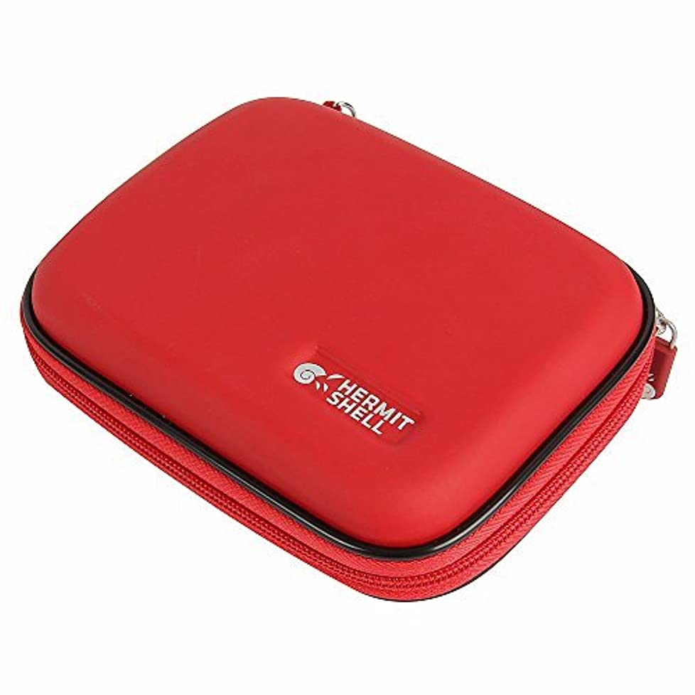 染色嫌がる入学するHermitshell Travel EVA Protective Case Carrying Pouch Cover Bag for MOGA Mobile Gaming System Controller (Android 2.3+) Color: Red by Hermitshell [並行輸入品]