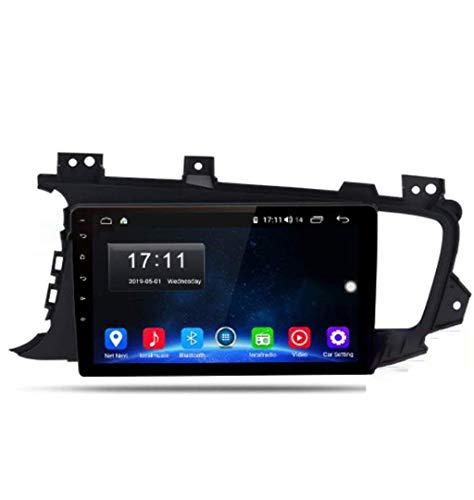 Radio de coche Android 8.1, GPS, pantalla táctil de 9 pulgadas, estéreo, TV, para Kia K5 Optima 2011 – 2015, con control en el volante, Bluetooth, manos libres, conexión DAB MP5 SWC, 4G + WIFI1G + 16G