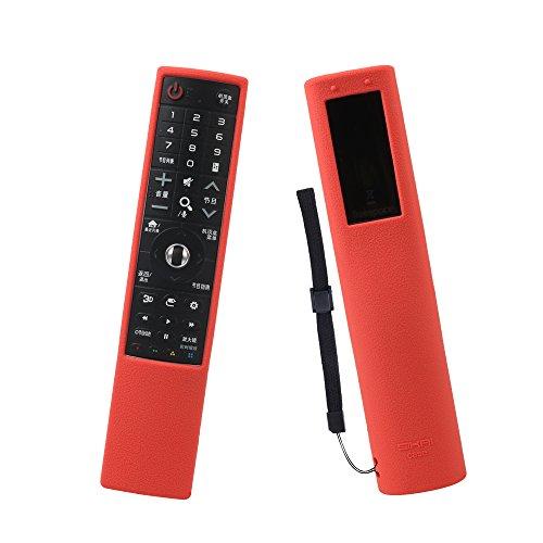 LG AN-MR700 Fernbedienung Hülle SIKAI Tropfen schützende Silikon Hülle für LG AN-MR700 Signature OLED TV Magic Fernbedienung Schutzhülle Anti-Rutsch Staubdicht Anti-Verlorene MEHRWEG