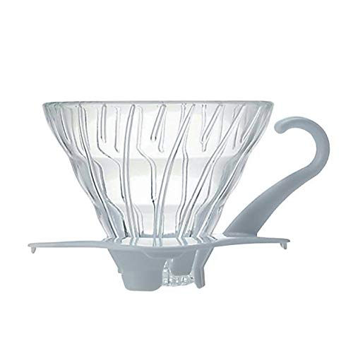 HARIO Coffee Dripper V60 Size 01 White Glass [Kitchen] (Japan Import)