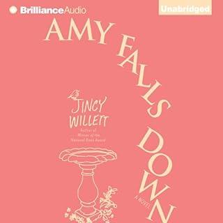 Amy Falls Down audiobook cover art