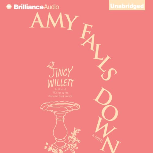 Amy Falls Down audiobook cover art
