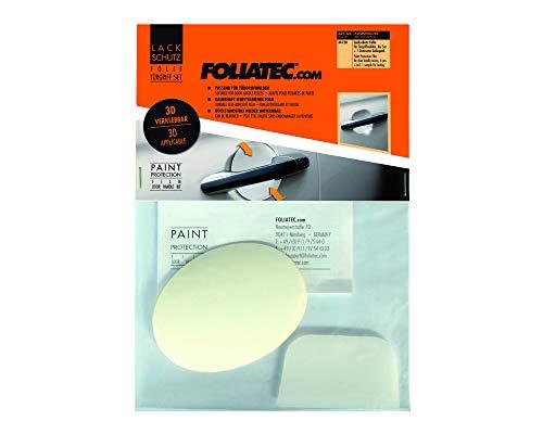 Foliatec 34120 Lack Schutzfolie Türgriff Set: Optimaler Schutz gegen Kratzer am Türgriff, Größe: 8.5 x 6.5 cm, Transparent