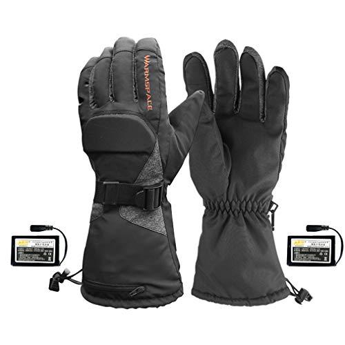 Verwarmbare handschoenen voor heren en dames, elektrische verwarmingshandschoenen, verwarmbare motorhandschoenen, oplaadbaar, voor wintersport