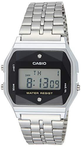 Casio Orologio Digitale Quarzo Unisex Adulto con Cinturino in Acciaio Inox 4549526194696