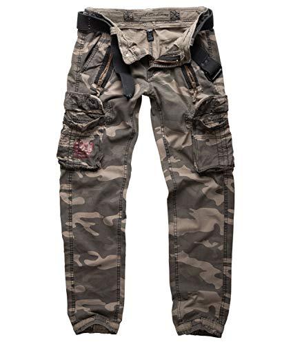 Surplus Raw Vintage Royal Traveler Slimmy Trousers, royalcamo, XL