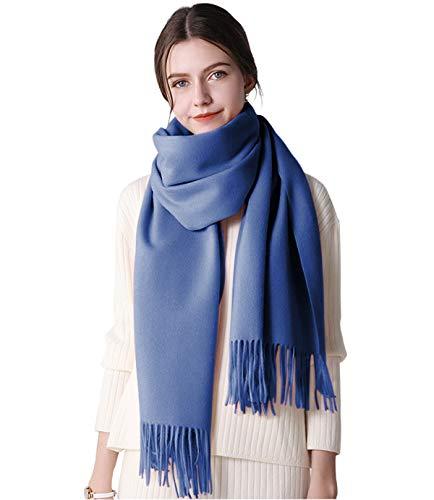 DEBAIJIA Bufanda acogedora Super suave Smooth Pashmina Cold Protection Stole Chal lana de cachemira para mujeres,extra grande 200x70cm Elegante elegante wrap Wass para todas las estaciones