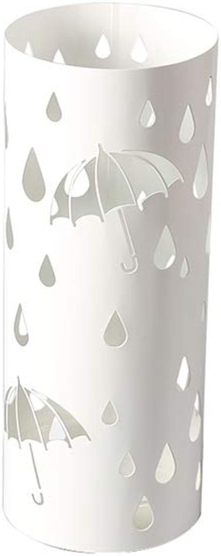 Umbrella Stands Umbrella Stand - Creative Umbrella Stand for Floor-Standing Folding Umbrella Stand White Umbrella Holder (color   White)