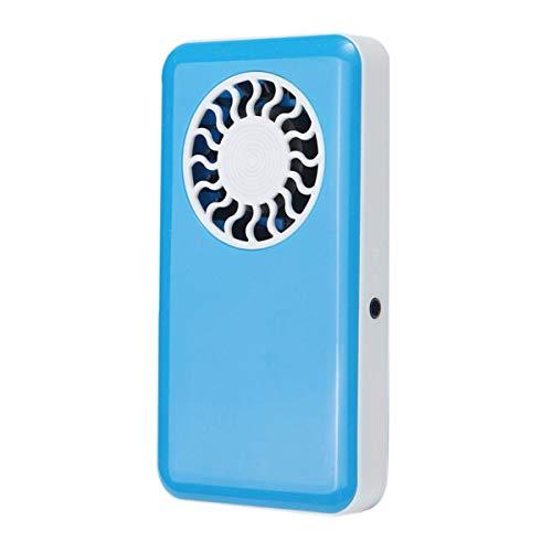 mini ventilateur usb pour dessiccateur de cils ventilateur portatif de poche pour mascara dessiccateur de colle de faux cils (bleu)