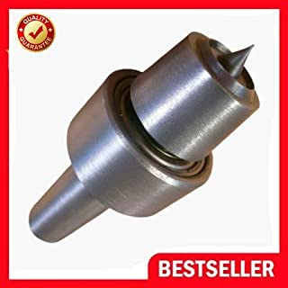 Wood Lathe Heavy Duty Tailstock Live Bearing Cup Center With MT2 Arbor New