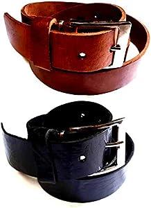 Cinturón Piel para Hebilla 4cm, Hebilla Simple Regalo, la Mejor Piel Toro volonato Negra Blanca Azul Verde Militar Camel marrón, de abbinare a fibbe blusupershop o Otras, 1Llavero CC1