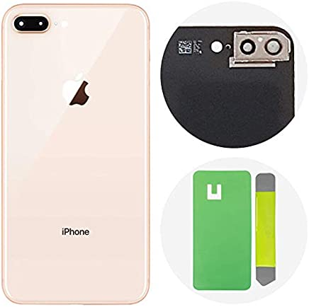 1710d1dd2a2 Best OEM iPhone 8 Plus Back Glass Cover Battery Door Replacement  w/Adhesive, Installed