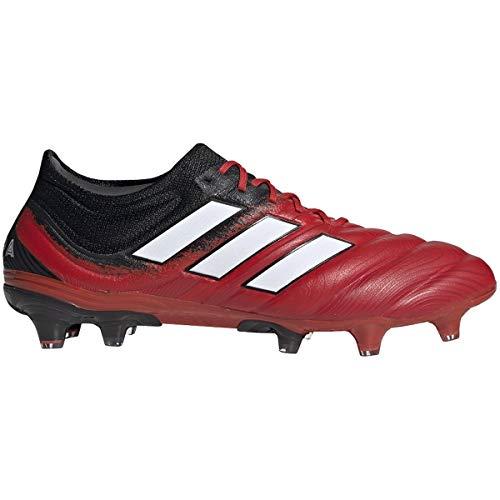 Adidas Copa 20.1 FG Cleat - Fútbol para hombre, rojo (Active Red-white-core Negro), 44.5 EU