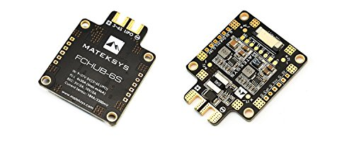 Makerfire FCHUB-6S w/ Current Sensor PDB Power Distribution Board BEC 5V/1.5A 10V/1.5A Current Sensor 184A for FPV Racing Drone Quadcopter Martian QAV X 250 210 220 180 150