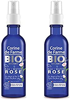 Corine De Farme Bio Organic Rose Water, 200 ml