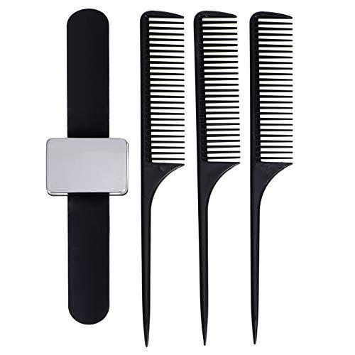 EXCEART Sostenedor Magnético del Pasador de Muñeca Peines Pintail Peine de Cola de Rata Alfiletero de Costura Magnético Pulseras de Bofetadas Accesorio de Peinado para Coser Horquillas