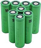 Batería De Repuesto De Alta Velocidad High Fear 18650Vtc5A 2600Mah Batería Protegida contra Desvanecimiento para Mini Fan Power Bank-8 Piezas