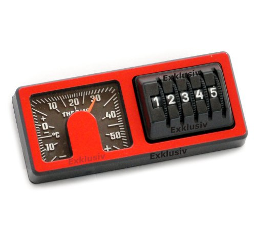 Kilometerzähler Thermometer Instrumenten Kombi 1973