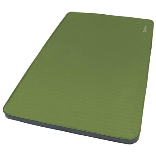 Outwell Dreamboat Double Liegematte, Green, 198 x 132 x 7.5 cm