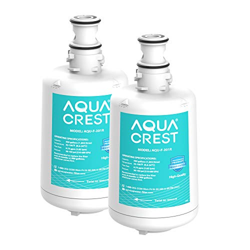 AQUACREST F-201R Filter Cartridge, Replacement for F-201R Filter Cartridge (Pack of 2)