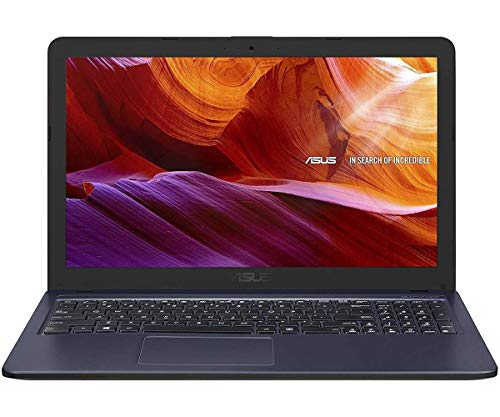 "ASUS F543UA-GQ1831T - Portátil de 14.6"" HD (Intel Core i3-7020U, 8GB RAM, 256 SSD, Intel Graphics, Windows10) Negro - Teclado QWERTY Español"