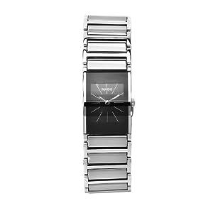 Rado Women's R20786159 Integral Black Dial Quartz Stainless Steel Watch image