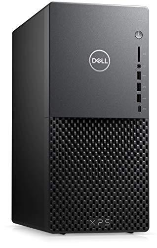 2021 Newest Dell XPS Minitower Desktop Computer, 10th Gen Intel i3-10100 Processor(Better Than i5-7400), 16GB DDR4 RAM, 512GB SSD, Bluetooth, Wi-Fi, SD Card Reader, Win10, Black +Oydisen Cloth
