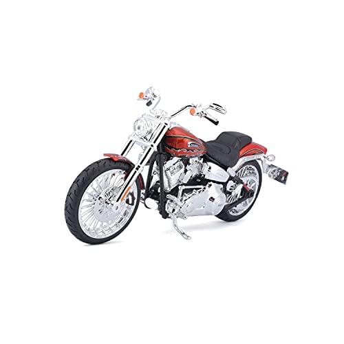 Maisto Modelo Modelo de exposición Motocicleta Harley Davidson CVO 01:12 Breakout 2014 532 327