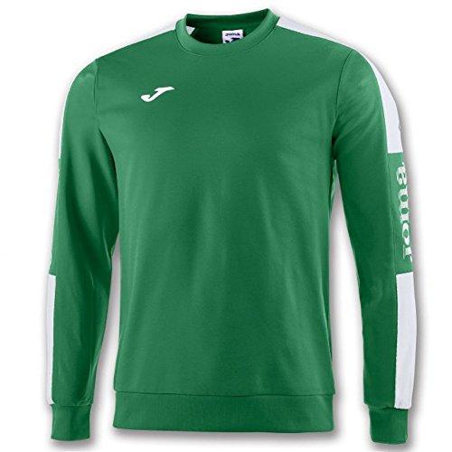 Joma Championship IV Sweater Homme, Vert/Blanc, XXS