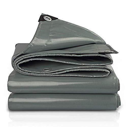 Lona impermeable cubierta de alto rendimiento en calidad premium hecha de 550 gramos metro cuadrado lona 4 x 5 m (color: A tamaño: 3 & veces; 6 m)