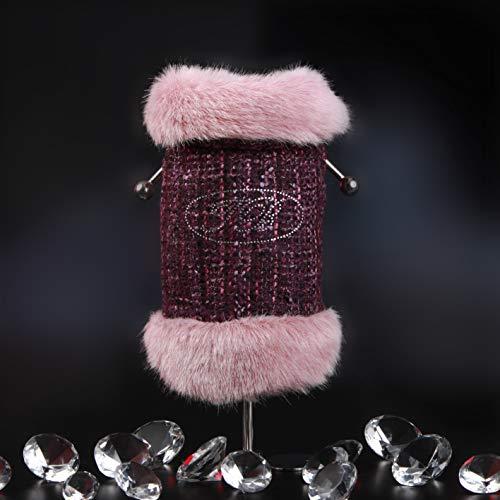 Trilly tutti Brilli Heidi Abrigo Tweed con aplicación térmica Rosa, M–1Producto