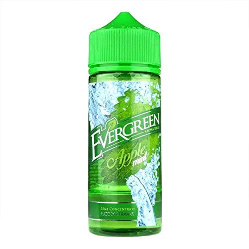 Evergreen Aromakonzentrat Apple Mint, Shake-and-Vape zum Mischen mit Basisliquid für e-Liquid, 0.0 mg Nikotin, 30 ml