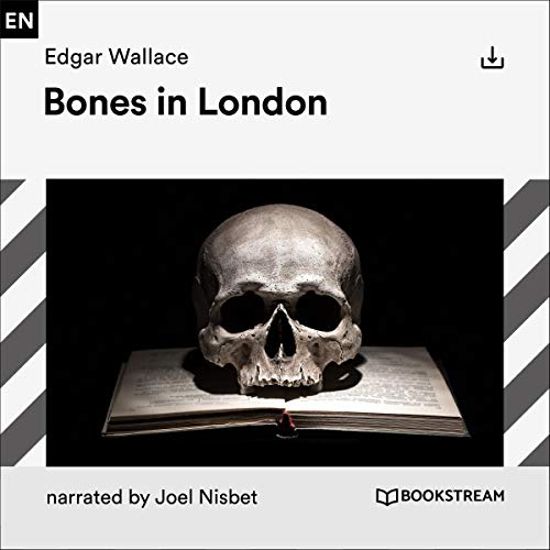 Bones in London audiobook cover art