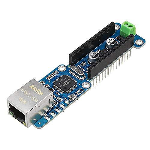 Arduino - Módulo de red compatible con Micro-SD para Arduino Ethernet Nano W5100 Ethernet Shield LAN