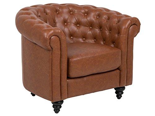 "Chesterfieldsessel Sessel Lounge Büro Chesterfield Clubsessel \""Charlie II\"""