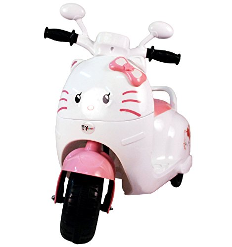 Toyhouse Kitty Scooty Ride on Bike for 2 to 4 Years Kids, Pink