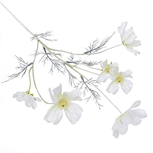 Dserw Artificial Flower, Artificial Coreopsis Flower Home Party Fake Cosmos Table Centerpiece Decor – Pink