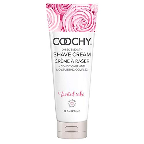 Coochy Extra Smooth Shave Creme FROSTED CAKE Water Based Shave...