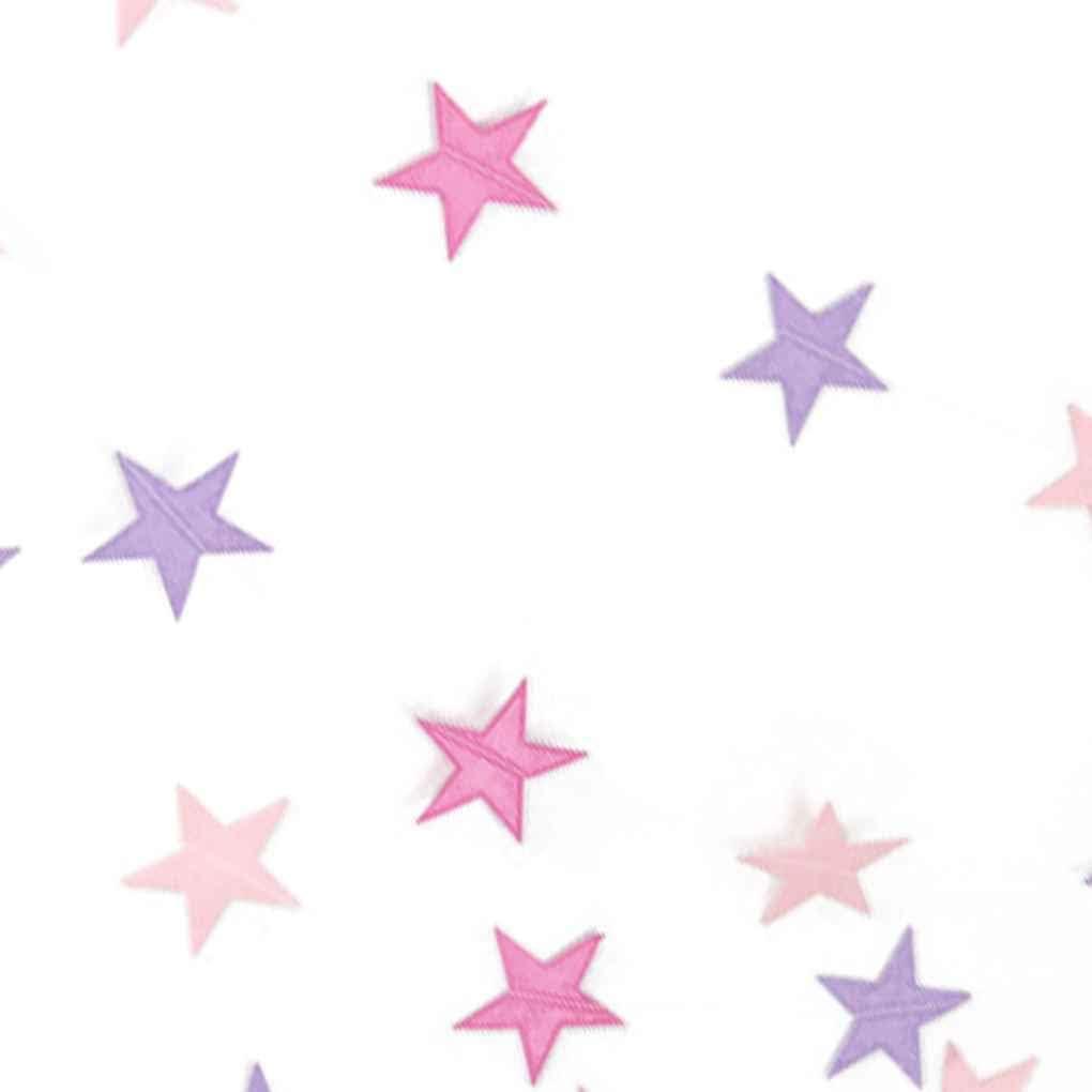 teng hong hui Papel 4m coraz/ón de la Estrella de la Guirnalda DIY habitaci/ón Banner Fiesta de cumplea/ños de la Boda del beb/é Baby Shower Sala Infantil Inicio Decoraci/ón Colgante