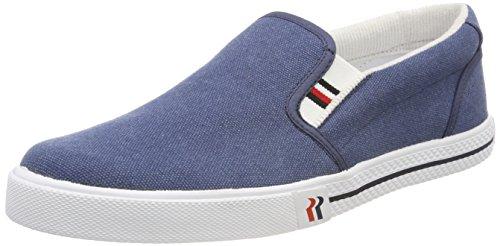 Romika Unisex-Erwachsene Laser Bootsschuhe, Blau (jeans), 49 EU