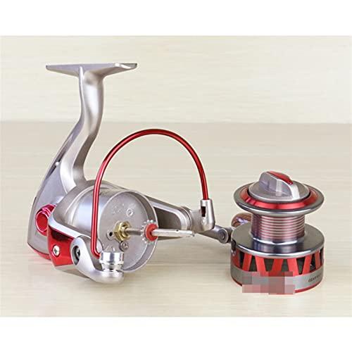 ZHYLing Metal Spinning Pesca Reel 1000-7000 Series Izquierda/Rocker Derecha Intercambiable 5.5: 1 10BB + 1 Bolas de rodamiento Rueda de Pesca (Spool Capacity : 4000 Series)