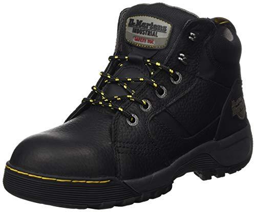 Dr. Martens Industrial Grapple, Men's SRC Safety Boots, Black (Black 002), 3 UK (36 EU)