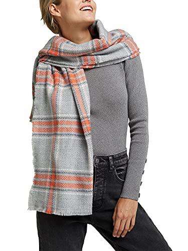 ESPRIT edc by Accessoires Damen 100CA1Q314 Mode-Schal, 035/MEDIUM Grey, 1SIZE