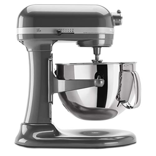 KitchenAid KP26M1XPM 6 Qt. Professional 600 Series Bowl-Lift Stand Mixer - Pearl Metallic